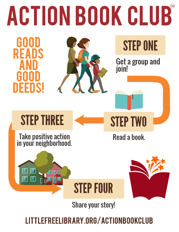 Action Book Club Infographic